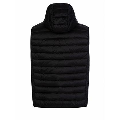 Black Hooded Ousten Gilet