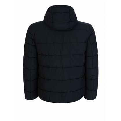 Black Court Quilted Jacket