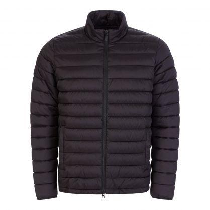Black Impeller Quilted Jacket