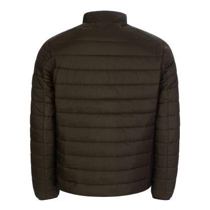 Green Essential Lightweight Puffer Jacket