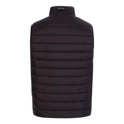 Black Essential Lightweight Puffer Gilet