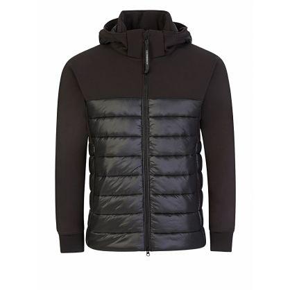 Black Padded C.P. Shell Jacket