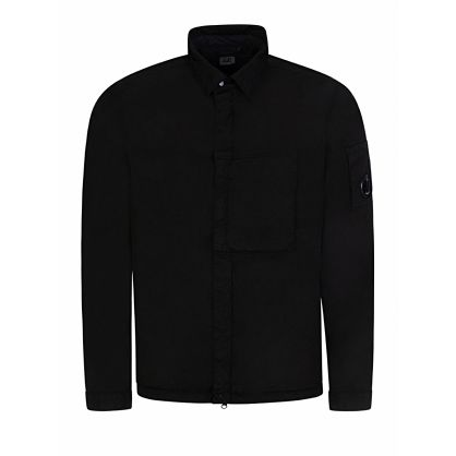Black M.T.t.N Garment-Dyed Overshirt