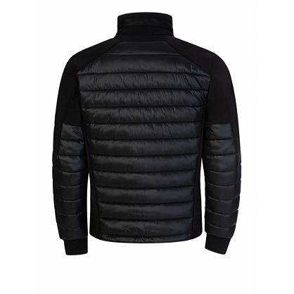 Black Padded Panel C.P. Shell Jacket
