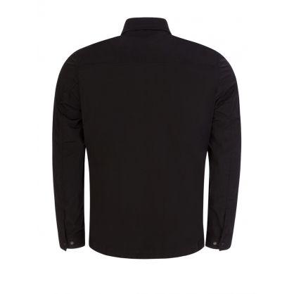 Black Metropolis Series Chrome-R Overshirt