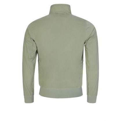 Green Chrome-R Bomber Jacket