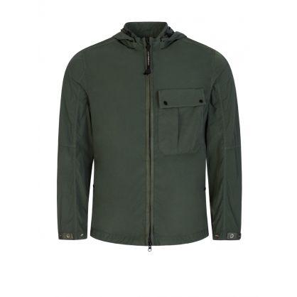 Green Chrome-R Overshirt Jacket