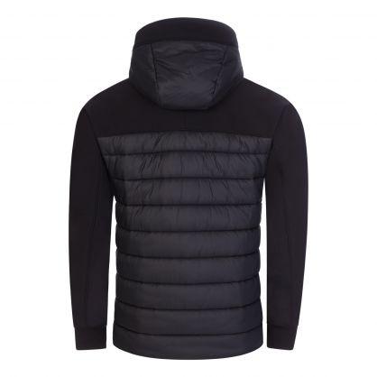 Black Shell-R Mixed Jacket