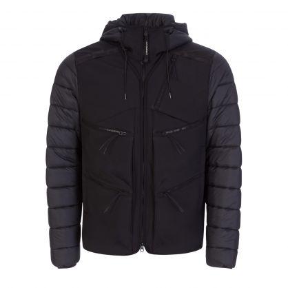 Black C.P. Shell-R Mixed Goggle Jacket