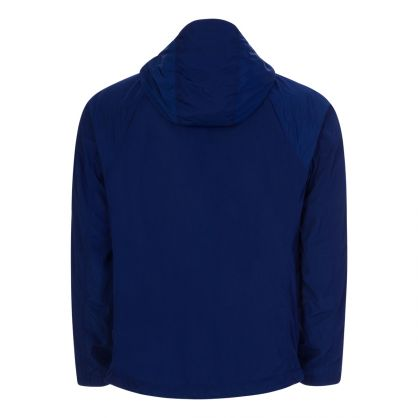 Blue Chrome-R Hooded Overshirt