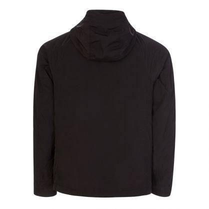 Black Chrome-R Hooded Overshirt