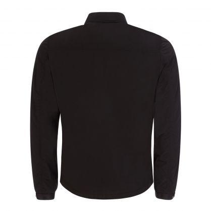 Black Chrome-R Zip-Through Overshirt
