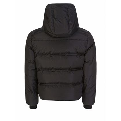 Black Real Down-Filled Jacket