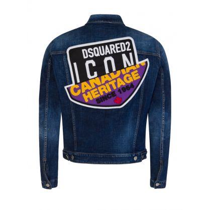 Blue Canadian ICON Patch Denim Jacket