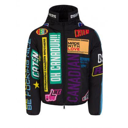 Black Traveler Puffer Jacket