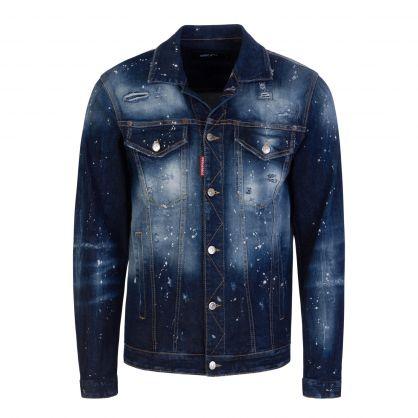 Blue Over Jean Denim Jacket