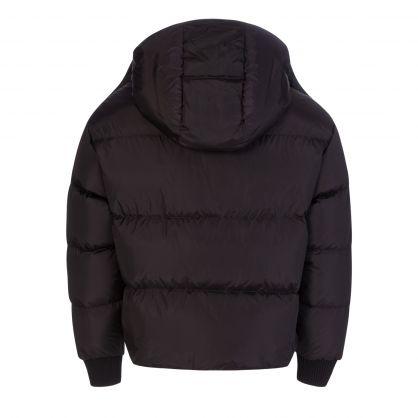 Black Kenny Padded Hooded Jacket