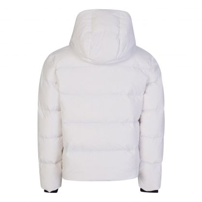 White Camo Puffer Jacket