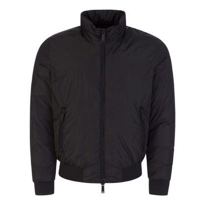 Black ICON Logo Jacket