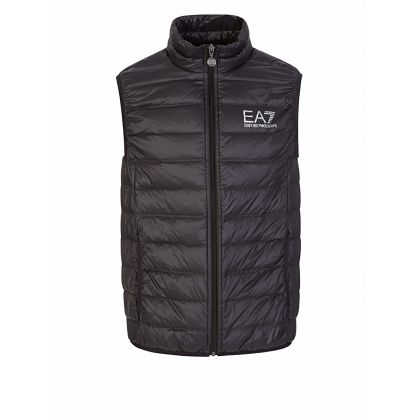 Black Packable Gilet