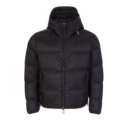 Black Tape Velvet Down Jacket
