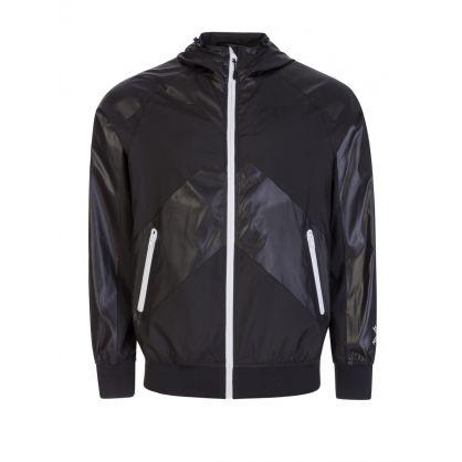 Black Sport 'Little X' Wind Stopper Jacket