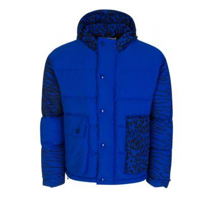 x Kansai Yamamoto Blue Puffer Jacket