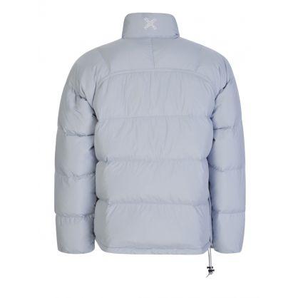 Grey Sport 'Little X' Puffer Jacket