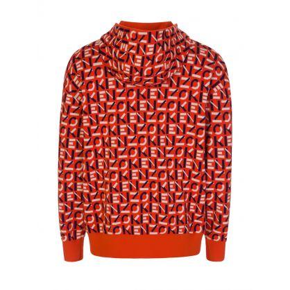 Orange Sport Monogram Jacquard Jacket