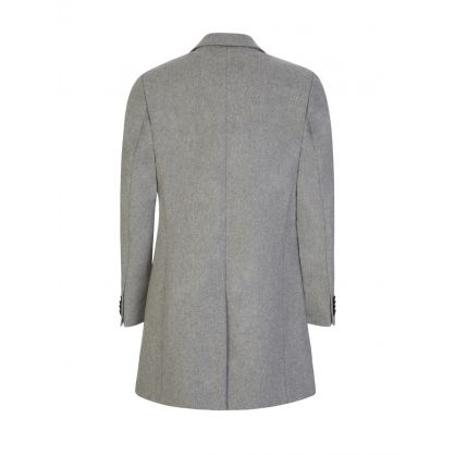 Grey Wolger Compact Melton Coat