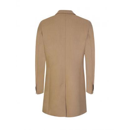 Beige Wolger Compact Melton Coat