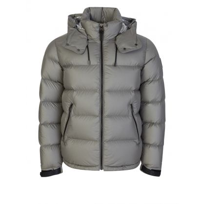 Grey Jonas Foil Shield Down Jacket