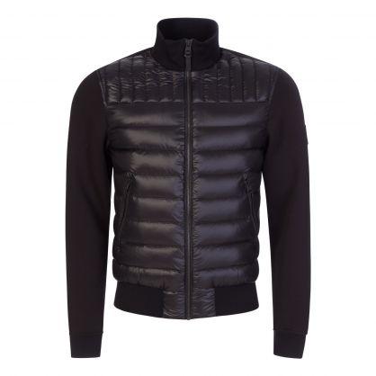 Black Collin Bomber Jacket