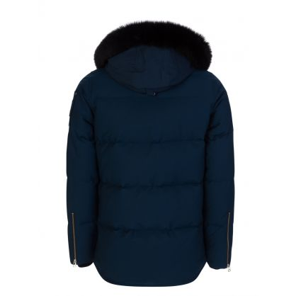 Blue Slim-Fit 3Q Jacket