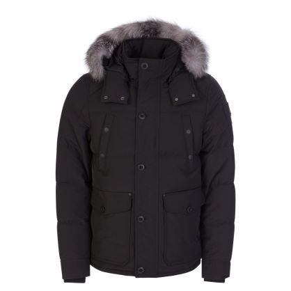 Black Round Island Jacket