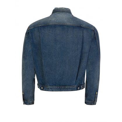 Blue Destroyed Jean Jacket