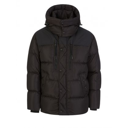 Black RLX Lux Nylon Jacket