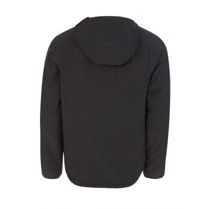 Black Nylon Water-Repellent Jacket