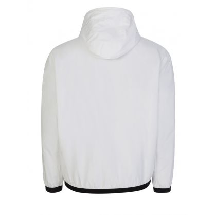 White Windbreaker Jacket