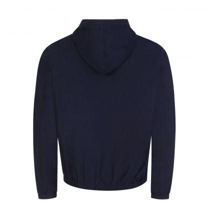 Navy Colt Hooded Cotton Jacket