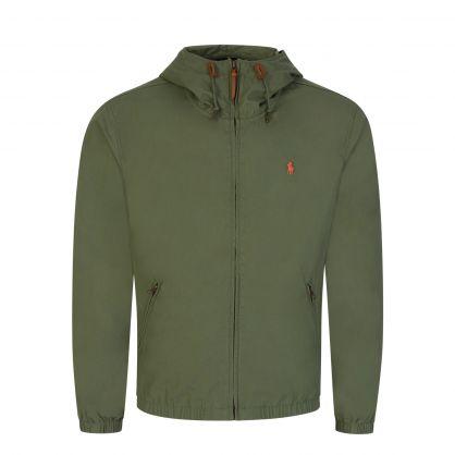 Green Colt Hooded Cotton Jacket