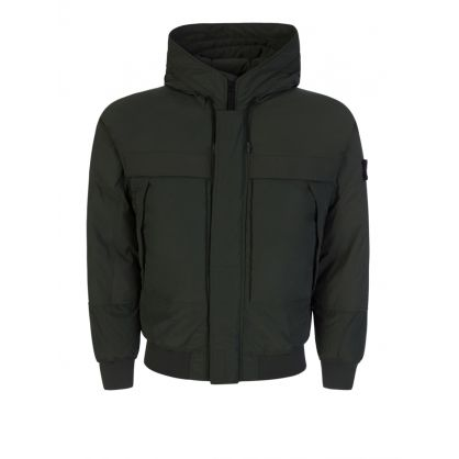Green Micro Reps Down Jacket