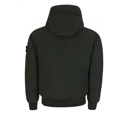 Green Micro Reps Down Jacket