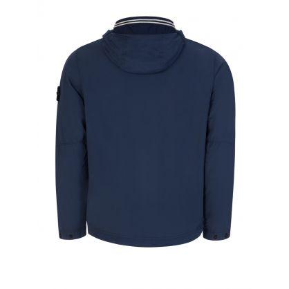 Dark Blue Skin Touch Nylon-TC Jacket