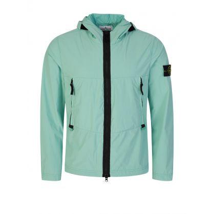 Green Skin Touch Nylon-TC Jacket