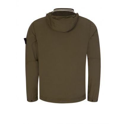 Dark Green Skin Touch Nylon-TC Jacket