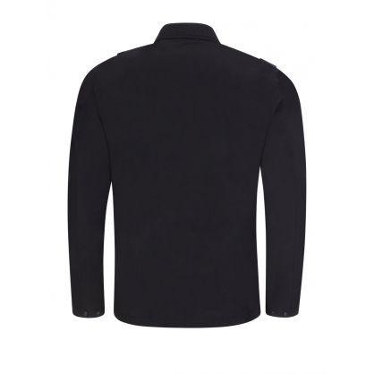 Jet Black Overshirt