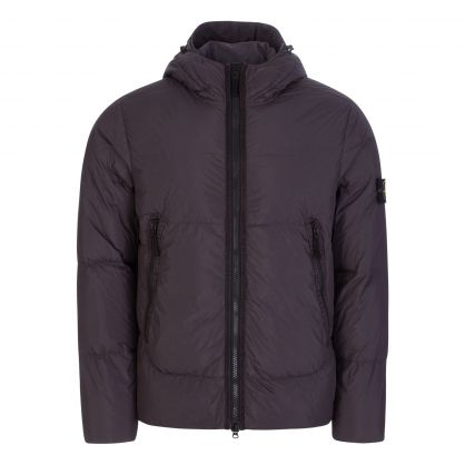Black Crinkle Reps NY Down TC Jacket