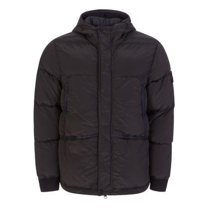 Charcoal Nylon Metal Down-TC Jacket