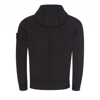 Black Soft Shell-R Hooded e-dye Jacket